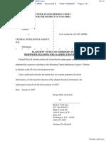 PETER B. v. CENTRAL INTELLIGENCE AGENCY et al - Document No. 9