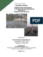 Reporte Inclinometro y Piezometro Marzo2011