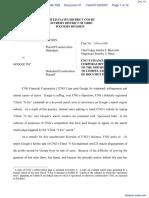 CNG Financial Corporation v. Google Inc - Document No. 41