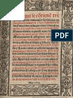CASAS, Bartolome Las - Treinta Proposicones Original