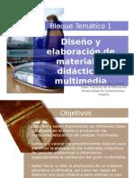 Diseo y Elaboracin de Materiales Didacticos Multimedia
