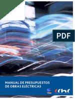 Manual de Presupuestos de Obras Electricas CChC