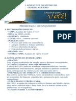 Evangelismo Semana Santa 2015