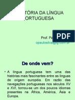A Hist Ria Da l Ngua Portuguesa
