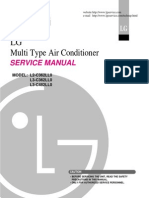 Manual Servicio Multi Split Fijo 36 - 48