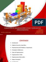 Presentación Organizaciones Civiles y Mercantiles
