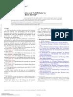 F543-07 Standard Specification and Test Methods for Metallic Medical Bone Screws1