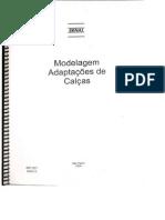 Senai Modelagem - Adaptação de Calças, Blusas, Mangas, Saias, .