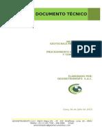 Documento Instalación Piezómetros
