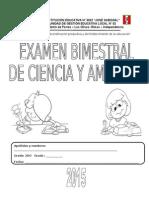 evaluación II BIMESTRE CIENCIA Y AMBIENTE.doc