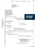 THE SCO GROUP, INC. v. AUTOZONE, INC. - Document No. 64