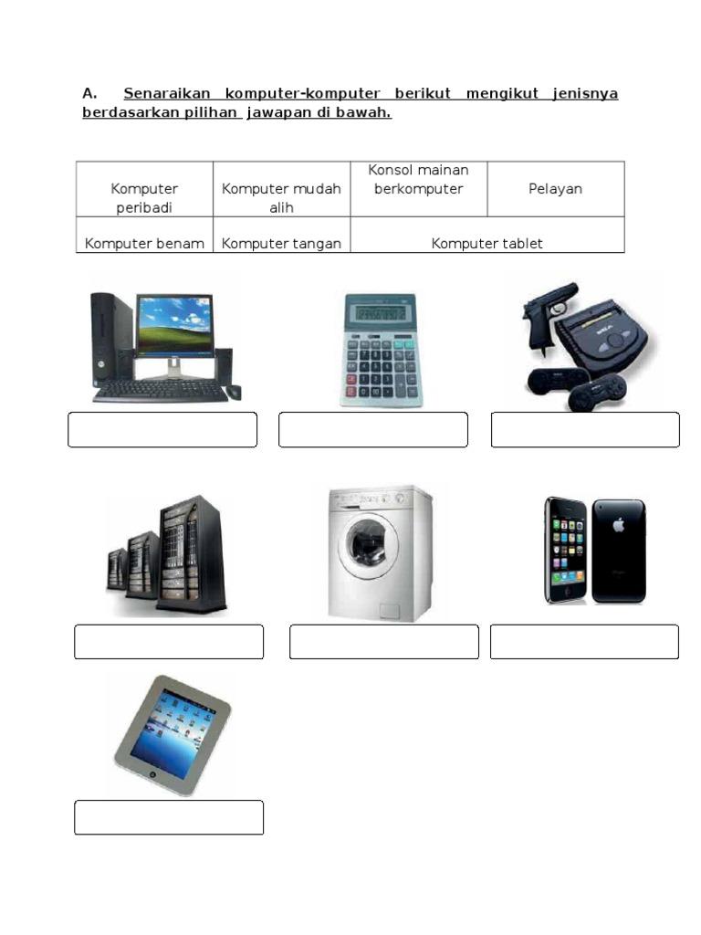 Ujian Teknologi Maklumat Dan Komunikasi Tahun 4