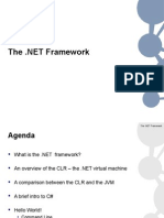 EAD Lecture - Introduction to the DotNET Framework