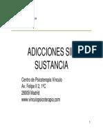 3. Adicciones Sin Sustancia