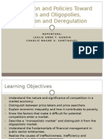CHAPTER 7 - Competition and Policies Toward Monopolies and Oligopolies Privatization and Deregulation