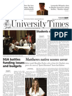 The University Times - February 18, 2010