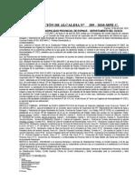 RESOLUCIÓN Nº 289 Aprueba Bases Administrativas Concurso Publico Nº 001-2010 - Sistema de Agua Es