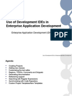 EAD Lecture - Use of Development IDEs in Enterprise Application Development