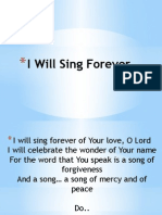 I Will Sing Forever and other Songs
