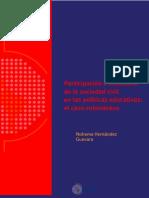 Participacion Incidencia Sociedad Civil Politicas Educativas Colombia