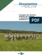Carrapato Dos Bovinos Metodos de Controle e Mecanismo de Resistencia a Acaricidas