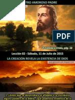 Lección 02 - Nuestro Amoroso Padre