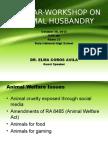 Seminar on Animal Welfare