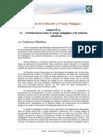 Lectura 3 - Consideraciones sobre el campo pedagógico y las prácticas educativas.pdf