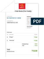 McDelivery™ Delhi- 10-07-15