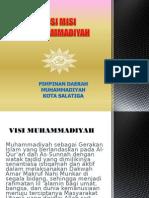 Visi Misi Muhammadiyah