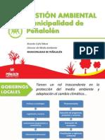 GESTIÓN AMBIENTAL  Municipalidad de Peñalolén