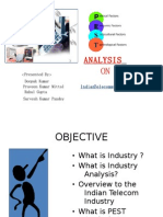 Pest Analysis- Indian Telecom Industry