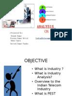 Pest Analysis- Indian Telecom Industry