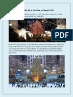 Diversión de La Navidad en Nueva York