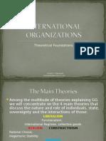 International Organizations Theory