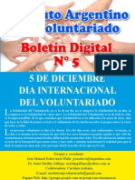 Boletin Voluntariado N° 5
