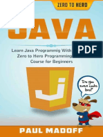 Java - Learn Java Programming With Ultimate Zero to Hero Programming Crash Course for Beginners {Zer07}