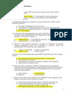 Other Set of Mock Exam 2013 - 005 Appraisal Economics (1)