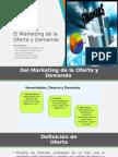 El Marketing de La Oferta y Demanda