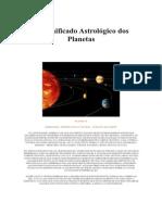 O Significado Astrológico Dos Planetas