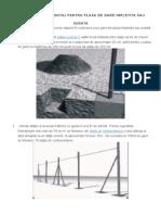 Instructiuni de Montaj Pentru Plasa de Gard Impletita Sau Sudata
