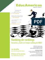 Revista Educamericas, Primera Edición, Febrero 2010