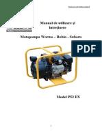 Manual de Utilizare P52EX RO