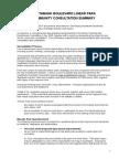 A_Summary Document - Southbank Boulevard