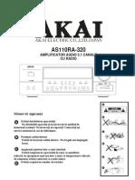 Akai s110ra 320 Manual