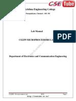 Cs2309 Microprocessor-lab Skec