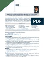 Finance & Insurance CV