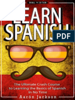 Learn Spanish - Vocabulary, Verbs & Phrases - Aaron Jackson - 2015