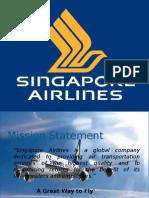Singapore Airline -  Case Study