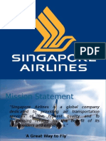 Singapore Airline -  Case Study
